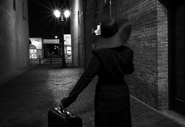 Film Noir Selfie - StyleIT Group G+ ~ Top 5 Winner~
