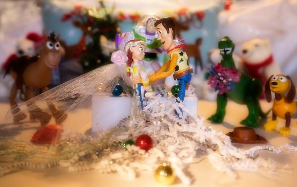 "FINAL shot - Toy Story 4 - A Christmas Wedding-  Woody: ""I do!"""
